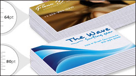 Thick Full Color Business Cards