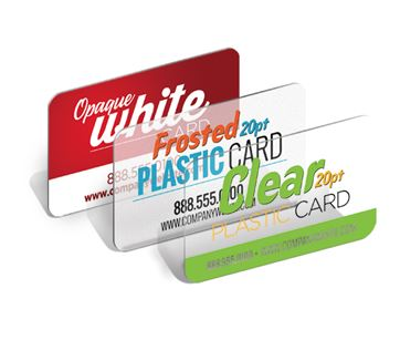 All Plastic Card Stocks