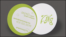 Business cards die cut business cards starting at 4499 25 reheart Choice Image