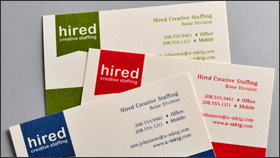 raised full color ink - Raised Lettering Business Cards